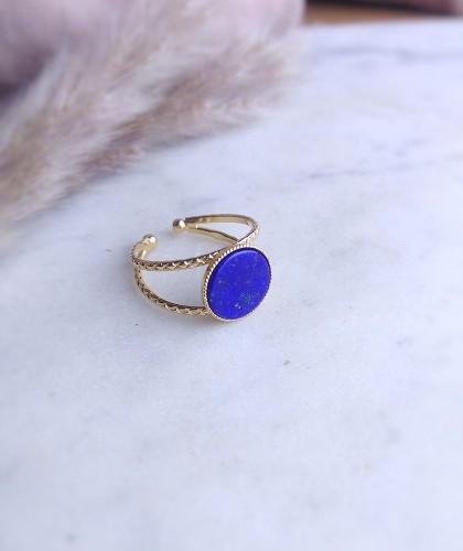 Monstro Diva - Bague First - lapis lazuli