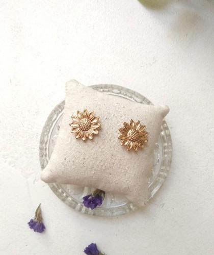 boucles d'oreille fleur Monstro Diva
